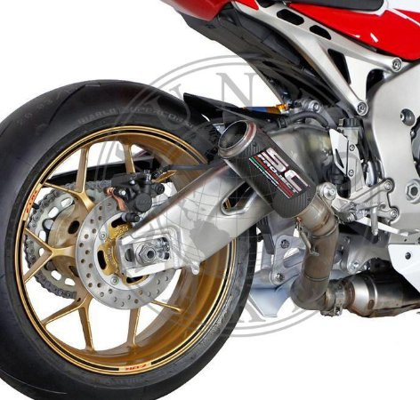 Escape  SC Project Honda CBR 1000 Fireblad 2008 | 2013