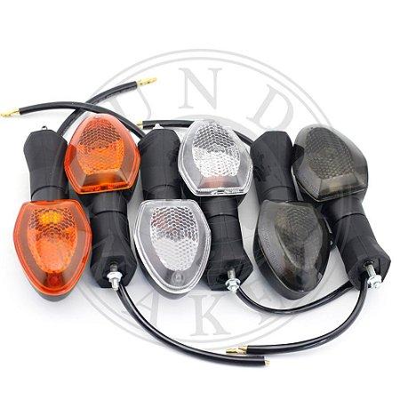 Par de Piscas Suzuki DL V Strom 650 E 1000 Modelo Original