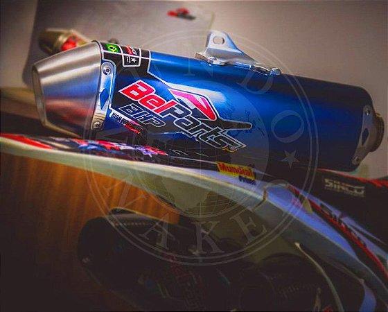 Escape Belparts BHP Honda XR 250 Tornado Completo Com Curva Bomber