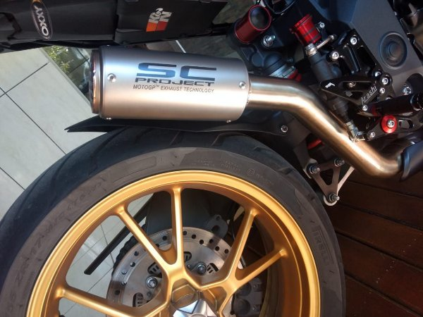 Escape Ponteira SC Project Triumph Speed Triple 1050 2013 | 2019
