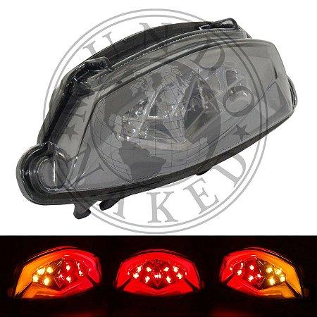 Lanterna Em Led Integrada Com Piscas Suzuki GSX-S 750 & 1000