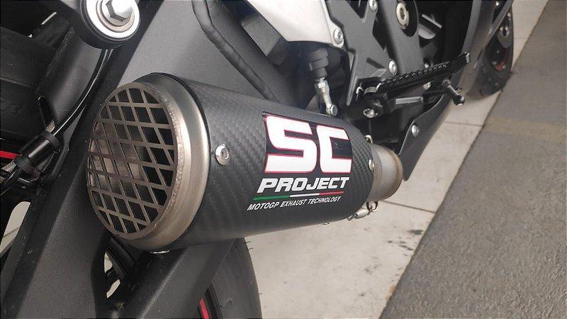 Escape Ponteira SC Project Kawasaki Ninja ZX10R 1000 2016|2021