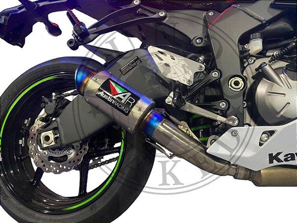 Escape Ponteira Austin Racing Kawasaki Ninja Zx6r 636 2017|2021