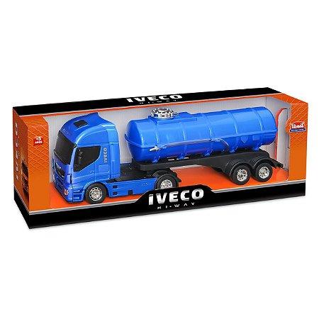 Caminhão Iveco Tanque/pipa - Usual Brinquedos