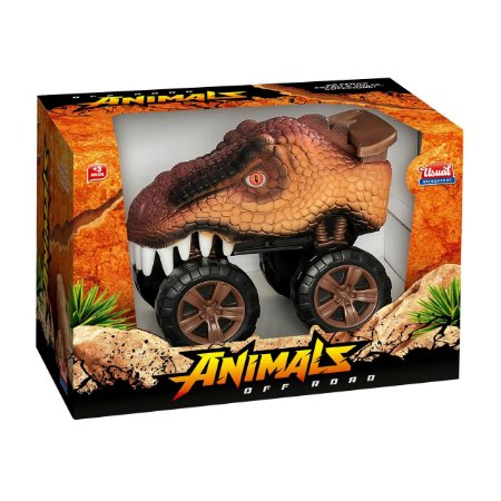 Carrinho Off Road Animals Usual Brinquedos