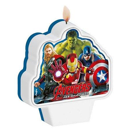 Vela Plana Avengers (Os Vingadores) Regina - 1 Unidade