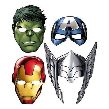 Máscara Avengers Regina 6 Unidades