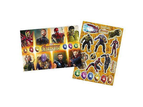 Kit Decorativo Avengers 3 (Vingadores)