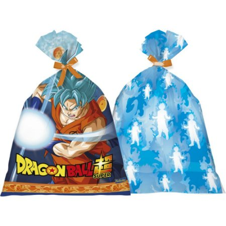 SACOLA PLASTICA DRAGON BALL 8UN