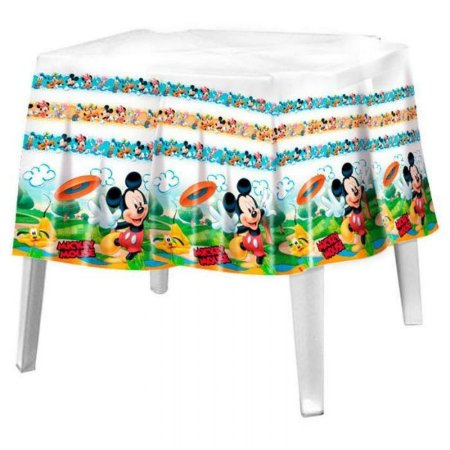 Toalha Plástica Mickey