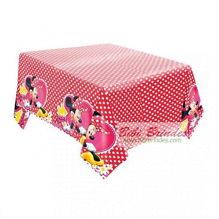 Toalha Plástica Minnie Vermelha