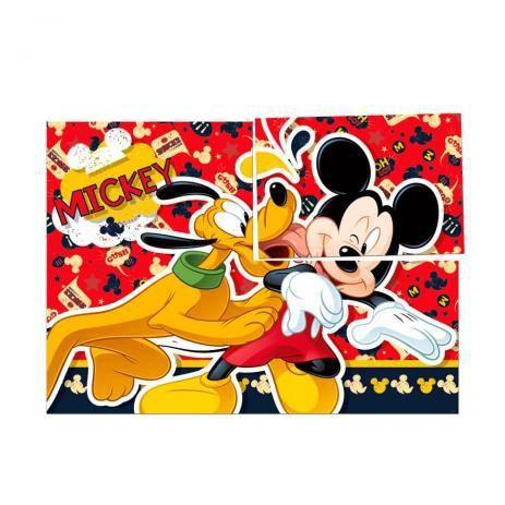Painel 4 Lâminas Mickey Clássico 1 Unidade