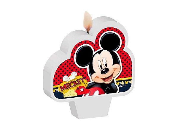 Vela Plana Mickey Clássico Regina - 1 Unidade