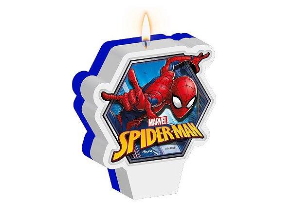 Vela Plana Spider Man Regina - 1 Unidade