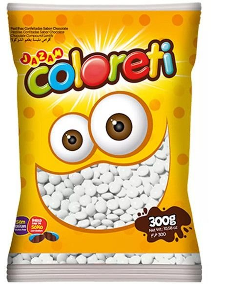 Mini Coloreti Branco Jazam 300g