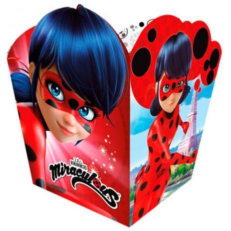 Cachepo Miraculous Ladybug 8 Unidades