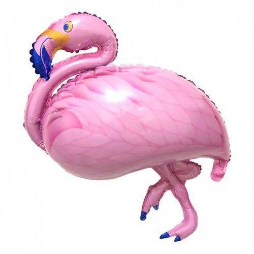 Balão Metalizado Flamingo Rosa