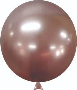 """Balão Alumínio Rose Gold 9"""" 25 Unidades"""