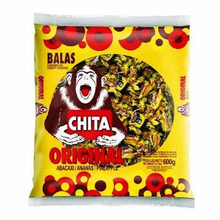 Bala Chita Abacaxi 600g