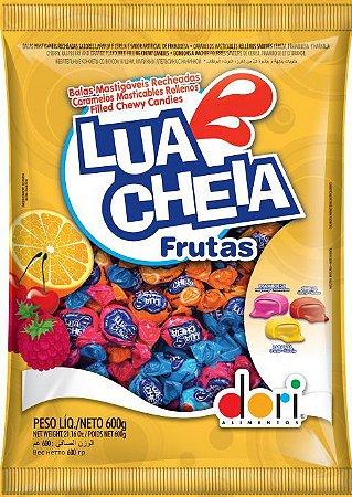 Bala Lua Cheia Frutas Dori 600g