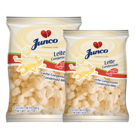 Bala Aniversário Leite Condensado Junco 700g