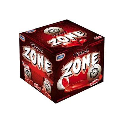 Chicle de Bola Terror Zone 320g - 40 Unidades