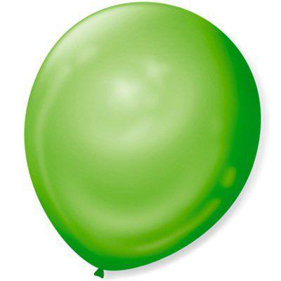 Balão SR Nº7 Verde Lima 50 Unidades