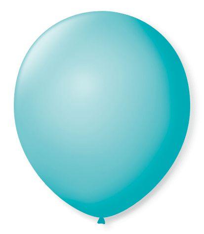 Balão SR Nº7 Azul Oceano 50 Unidades