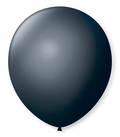 Balão SR Nº7 Preto Ébano 50 Unidades
