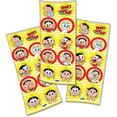 Adesivo Decorativo Redondo Magali Melancia - 30 Unidades