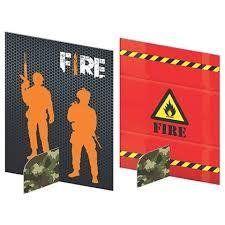 ENFEITE DE MESA FIRE 5UN