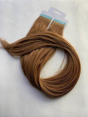 Mega hair fita adesiva #8 - 20 fitas - 50cm cabelo humano