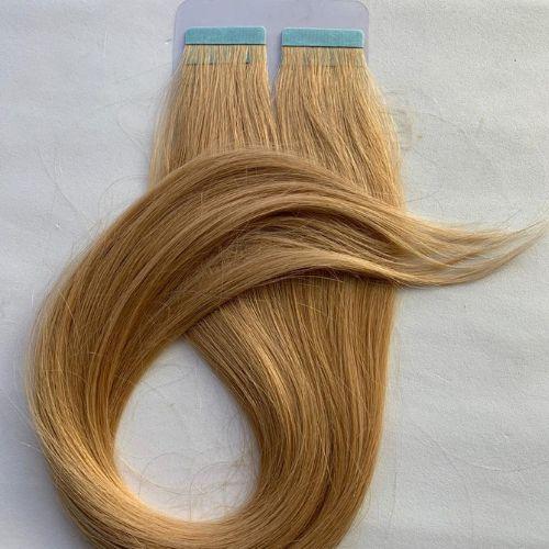 Mega hair fita adesiva #14 - 20 fitas - 50cm cabelo humano