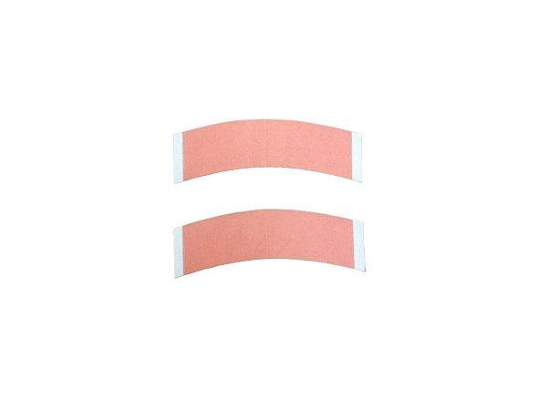 Fita adesiva para prótese capilar dupla face - 12 unidades – rosa