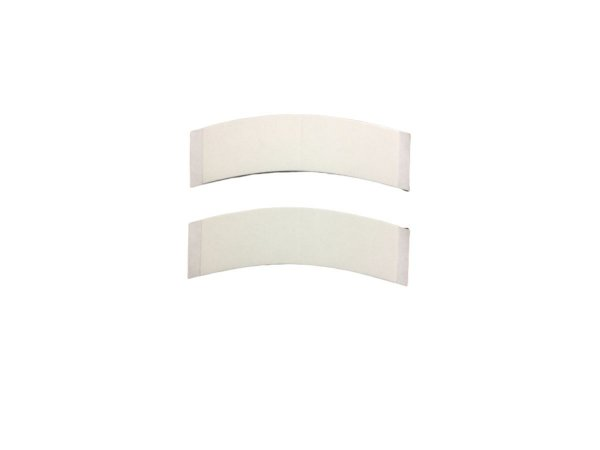 Fita adesiva para prótese capilar dupla face – 12 unidades - branca