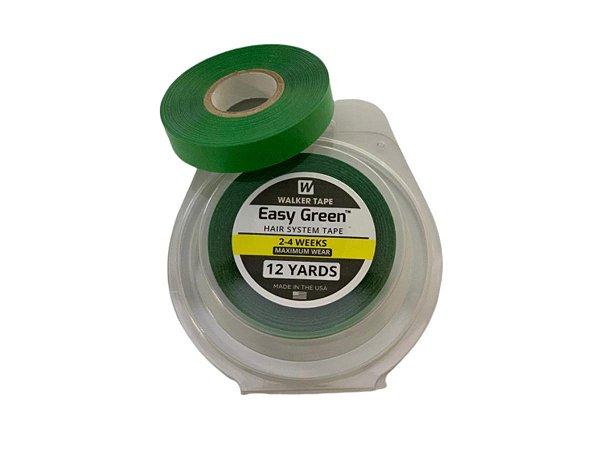 Fita rolo easy green 12 metros x 1,2 cm - verde