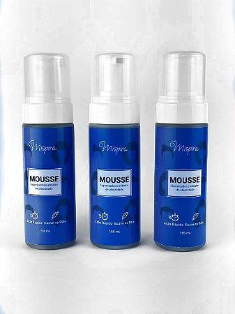 kIt 3 Mousses Higienizador E Inibidor De Oleosidade P/ Próteses