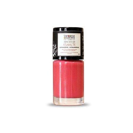 629 - Esmalte Hipoalergênico Vegano Fortalecedor Twoone Onetwo 10ml  Peach Pink  (REF 1150)