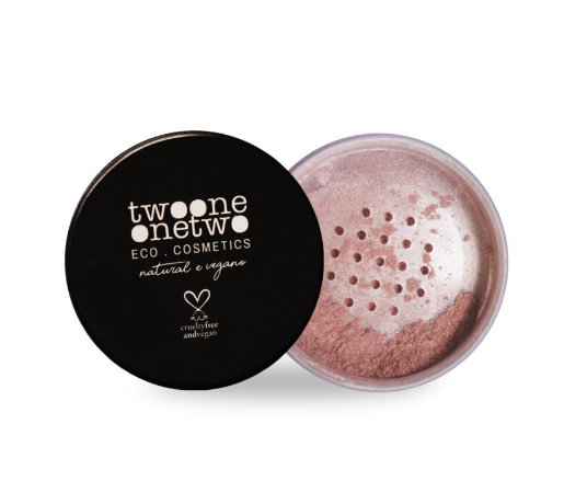 802 - Iluminador Facial Leite de Coco Natural Vegano Twoone Onetwo 9g Pearl