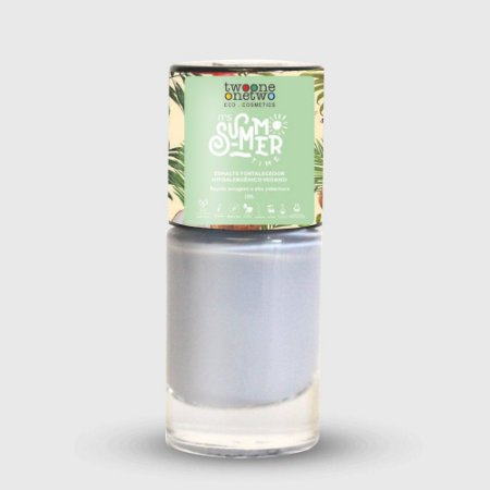 638- Esmalte It´s Summer Time Hipoalergênico Vegano Fortalecedor Twoone Onetwo 10ml Powder Blue