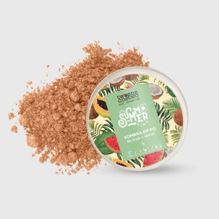 913 - Sombra Solta It´s Summer Time Natural Vegano Vegano Twoone Onetwo Nude 5g