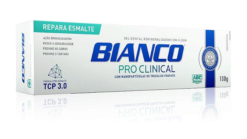 Creme dental BIANCO PRO CLINICAL 100 gramas 1 unidade