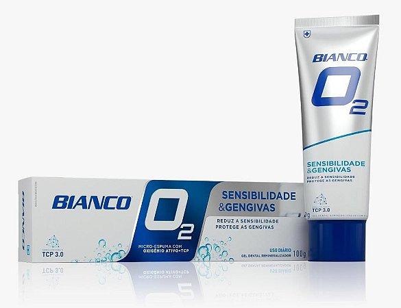 Creme Dental Bianco O2 - 12 horas de proteção contra bactérias