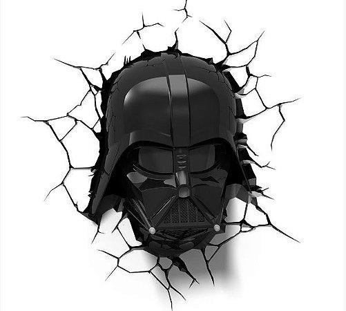 69e6dab541 Luminária 3D Light FX Star Wars Darth Vader Helmet - KO GAMES