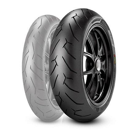 Pneu Pirelli Diablo Rosso ll 130/70R17 - Traseiro