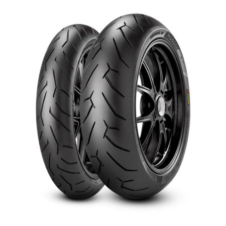 Pneu Pirelli Diablo Rosso ll 110/70R17 e 140/70R17 (Par)