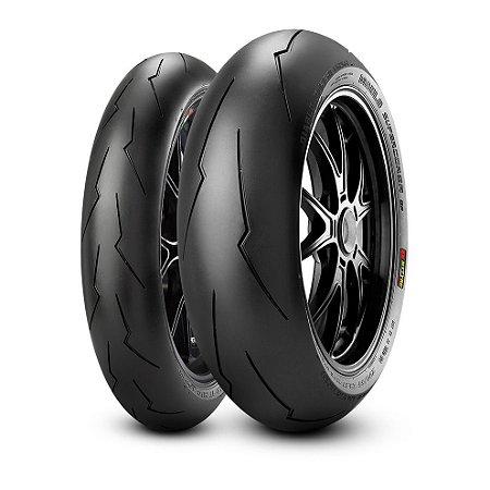 Pneu Pirelli Supercorsa SP V2 120/70-17 e SP V2 180/60 -17 ( Para Uso Rodovia e Track Day )