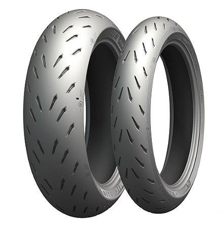 Pneu Michelin Power RS 120/70R17 e 180/55R17 (Par)