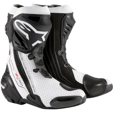 Bota Alpinestars SuperTech-R Preto/Branco