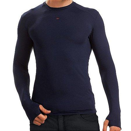 Camiseta Segunda-Pele 2MT - Azul Marinho